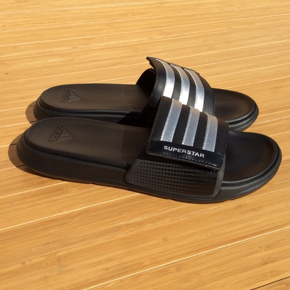 901838a6ce87b adidas Other - Adidas SUPERSTAR 4G Slides Men s 11